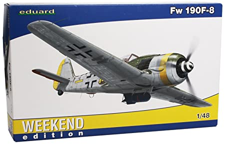 Eduard EDK84111 Fw190 F-8 Weekend 1:48 Plastic Kit Maquette