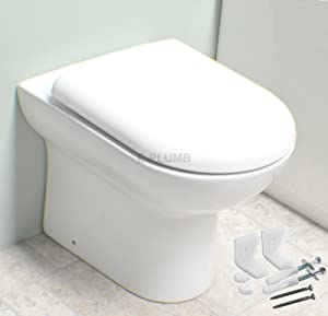 Alexander James Linton Back To Wall Toilet With Soft Close Seat       reviews and more information