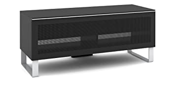 Elmob Exclusive EX120-03 1200mm Wide TV Cabinet AV Unit - Black