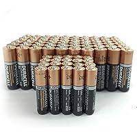 Duracell 60 AA 20 AAA Copper Top Alkaline Duralock Batteries