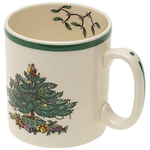 Spode Christmas Tree Mug Set of 4