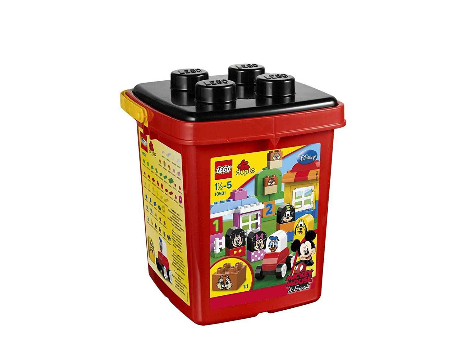 Lego Duplo Building Toy with Mickey and Minnie Mouse, Donald Duck, Goofy, and Pluto
