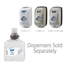 PURELL 5456-04 Advanced Instant Hand Sanitizer, 1,200 mL TFX Refill (Case of 4)