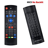 oFourSmart MX3 Multifunction 2.4G Air Fly Mouse Mini Wireless Keyboard & Infrared Remote Control & 3-Gyro + 3-Gsensor for Google Android TV Box, IPTV, HTPC, MINI PC, Android Projector (Color: Mx3, Tamaño: MX3)