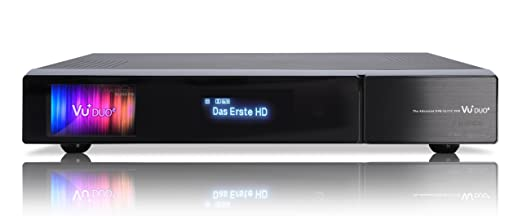 VU+ Duo² 1x DVB-S2 Dual Tuner 1 TB HDD Twin Linux Receiver Full HD 1080p