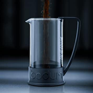 bodum brazil kaffeebereiter schwarz 0 35l db36. Black Bedroom Furniture Sets. Home Design Ideas