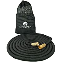LawnPRO 50 Expanding Garden Hose with 5000 Denier Woven Casing + Free Storage Bag