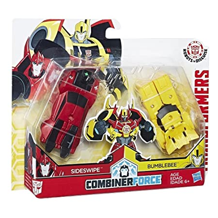 Transformers - C0630ES00 - Robots In Disguise Crash Combiners BBE & Sideswipe -