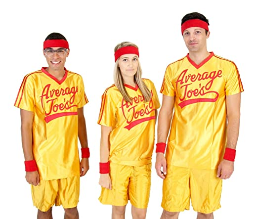 ADULT Dodgeball Average Joe's Yellow Jersey Costume Set at Sears.com