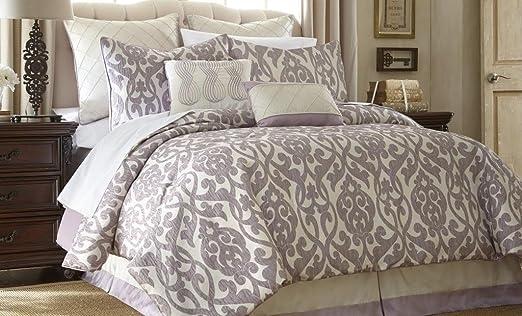 Set Lavender/ivory King