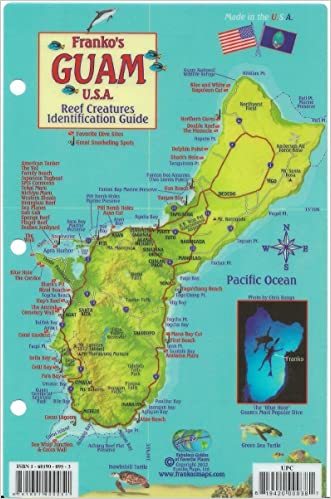 Guam Dive Map & Reef Creatures Guide Franko Maps Laminated Fish Card written by Franko Maps Ltd.