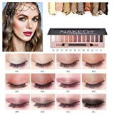Eyeshadow Palette Makeup Matte Shimmer 12 Colors High Pigmented Cosmetic Eye Shadows (A - 12 Color) (Color: A - 12 Color, Tamaño: Medium)