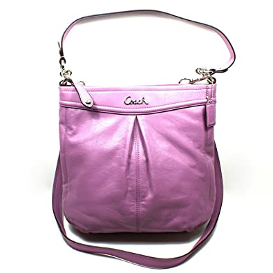 Coach Shoulder Bag Purple 69