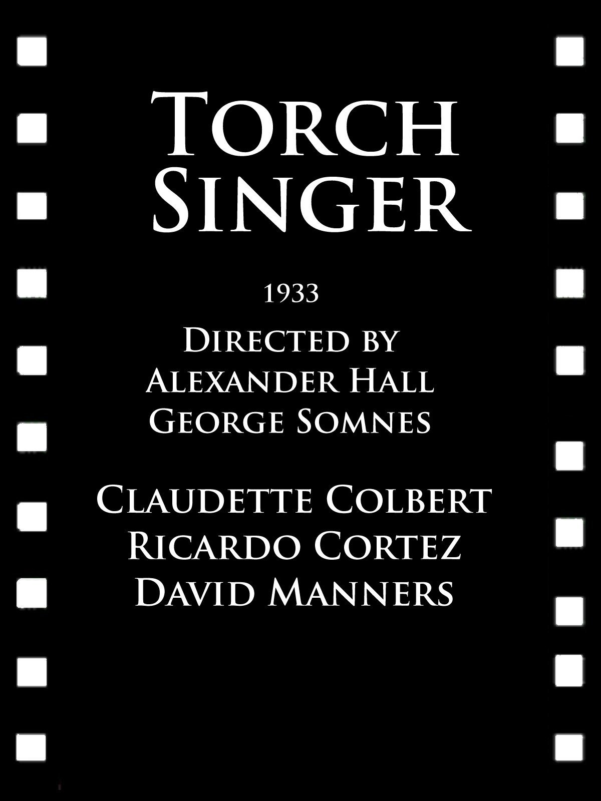 Torch Singer on Amazon Prime Instant Video UK