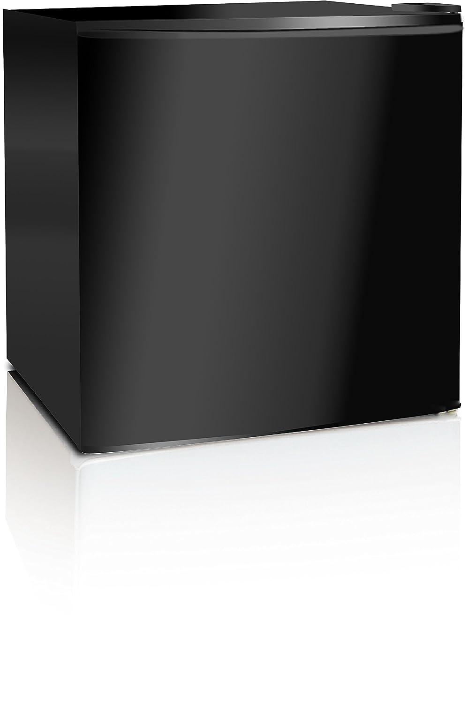 midea WHS-52FB1 Compact Single Reversible Door Upright Freezer, 1.1 Cubic Feet, Black