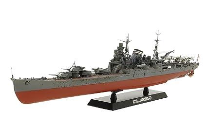 Tamiya - 78027 - Maquette - Bateau - Croiseur Lourd Chikuma