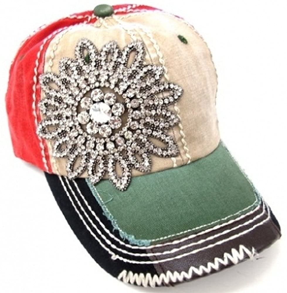 womens baseball hats with bling images