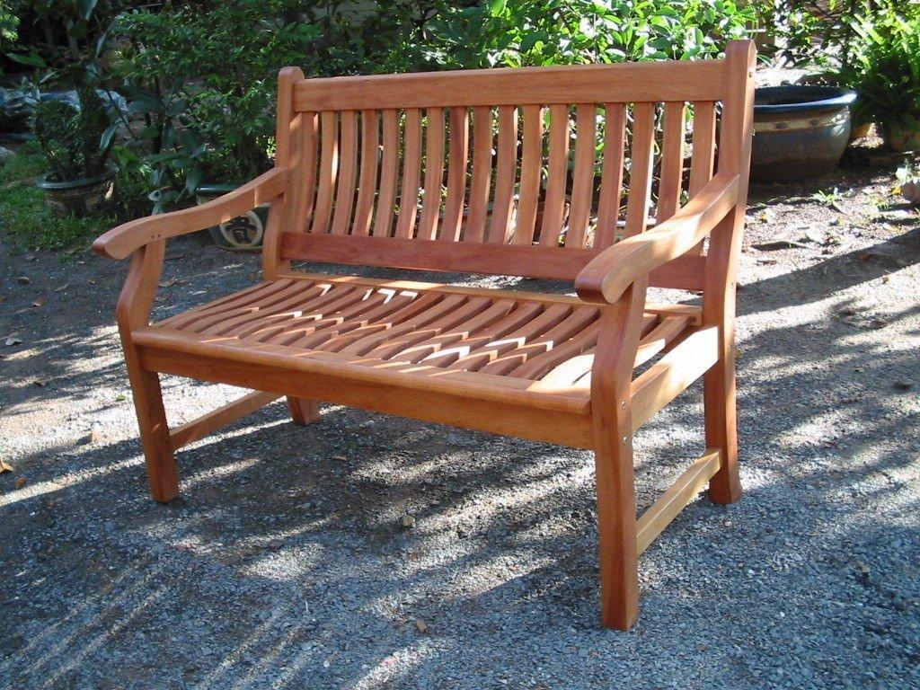 Gartenbank NEW JERSEY, 2-Sitzer aus Akazienholz
