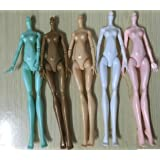 CHENGYIDA 5 pcs/lot Multi-Joint Rotatable Nude doll body Toy Movable Flexible accessorries for monster high doll (Color: as show, Tamaño: as show)