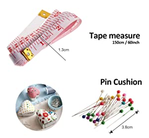 ilauke 36Pcs Bobbins and Sewing Thread with Case for Singer Brother Janome Babylock Janome Kenmore Machine