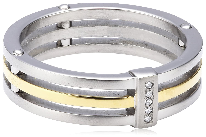 Boccia Damen-Ring Titan Bicolor 5 Brillianten 0,025 0126-0248 günstig