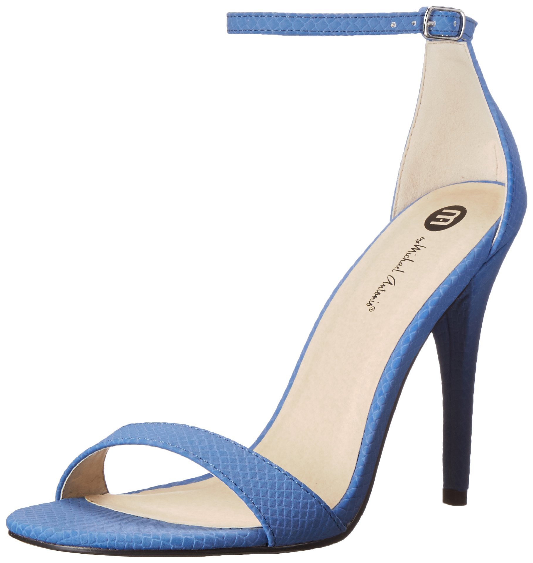 Giầy cao gót Michael Antonio Women's Jaxine REP1 Dress Sandal, màu Blue, Size: 6US - 36/37 EU