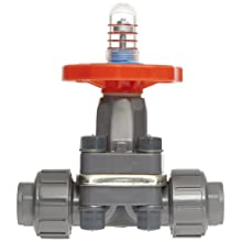 "Hayward PVC Diaphragm Valves, FPM Seal, 3/4"" Socket/Threaded"
