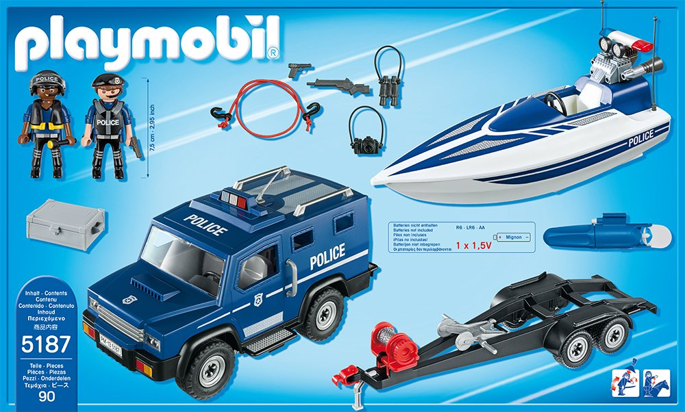 playmobil underwater motor instructions