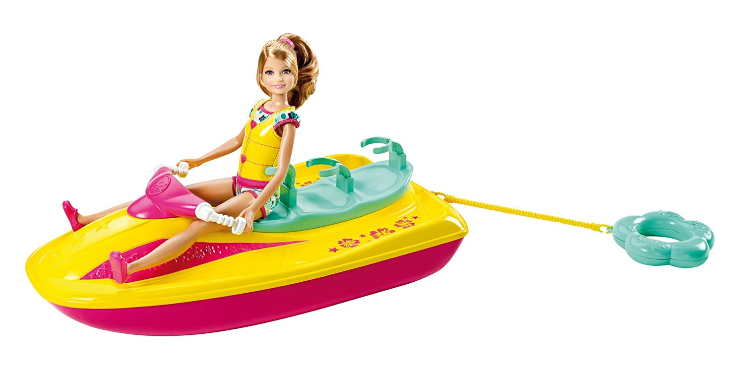 Barbie Sisters Jet Ski and Stacie Doll Set