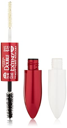 L'Oreal Paris Double Extend Beauty Tubes Mascara, Black, 0.33 Ounces