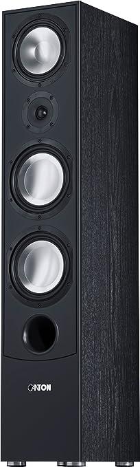 Canton GLE 490 Enceinte Colonne 3-way Système Bass-reflex 320 W Noir