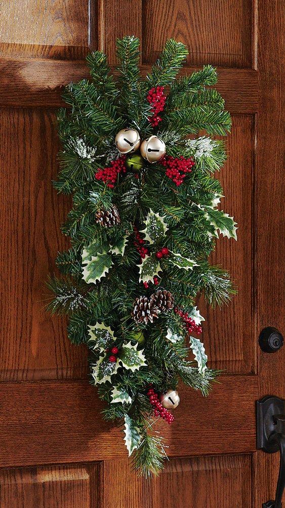 I Just Love My Christmas Front Door Wreath