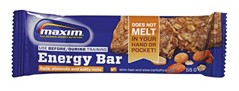 Maxim Energy Bar Oats, Almonds and Salty nuts 25 Riegel à 55g