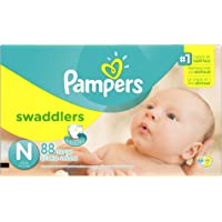 6-Pack Pampers Swaddlers Diapers Super Pack (88 Count) + $50 Gift Card