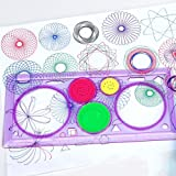 Drawing Ruler - Creative Gift Spirograph Geometric Ruler Drafting Tools Stationery For Students Drawing Toys Set Learning Art Sets For Children - Geometric Ruler
