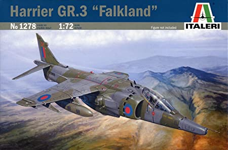 Italeri - I1278 - Maquette - Aviation - Harrier GR.3 Falkland - Echelle 1:72
