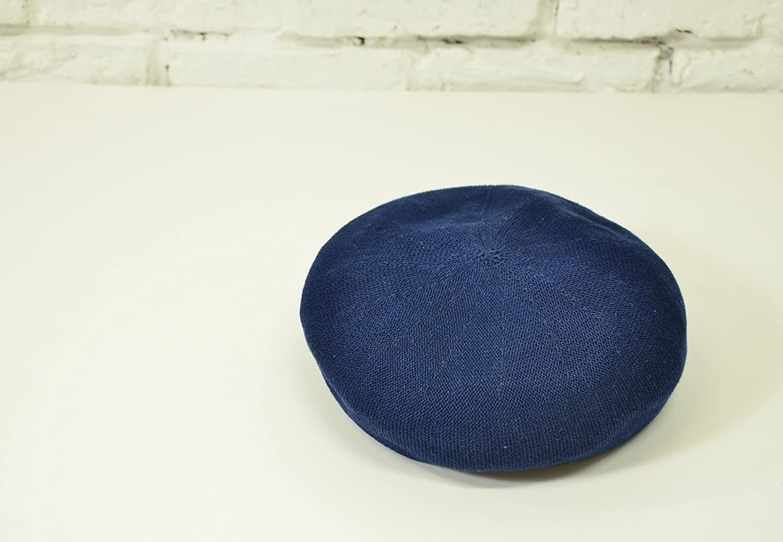and it_(アンドイット)_[アンドイット] and it_ ナチュラルコットンニットベレー帽NV.ネイビー57.5cm_通販_Amazon|アマゾン