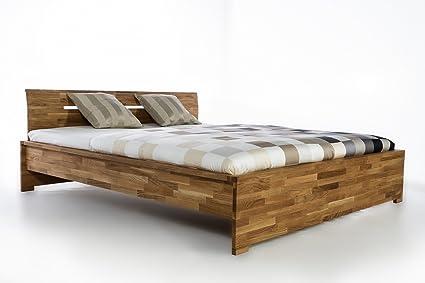 Massivholzbett Firenze Doppelbett Bett Massiv Wildeiche NEU OVP alle Größen sofort Lieferbar 140x200