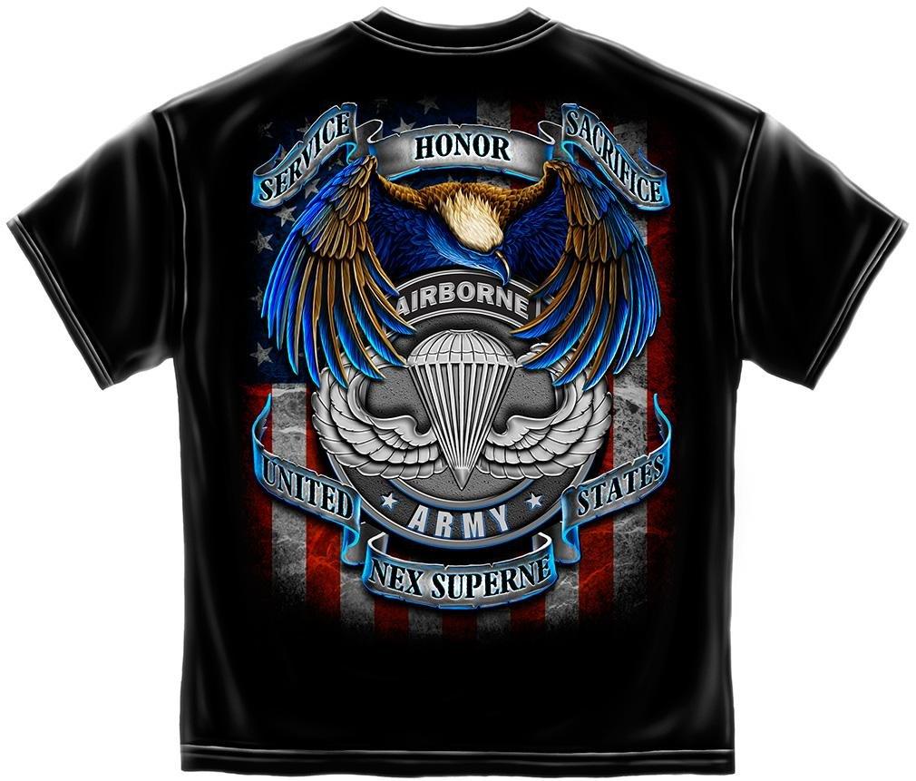 Us Army Airborne T Shirt Nex Superne On Amazon