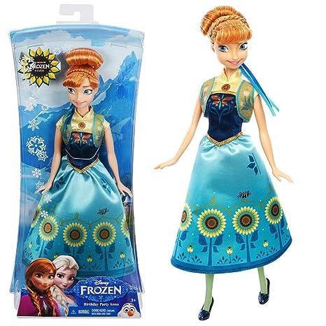 La Reine des Neiges - Disney Frozen - Poupée Mannequin - Princesse Anna