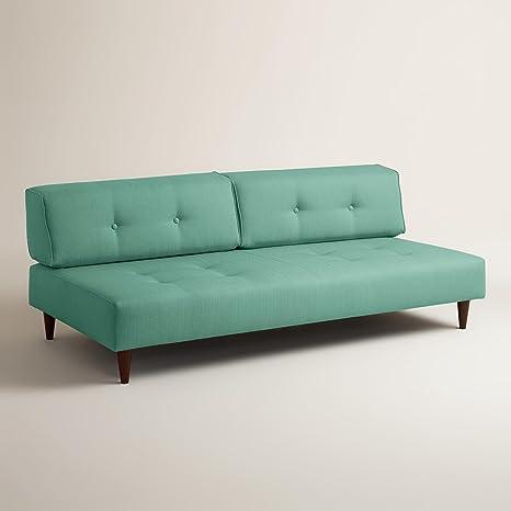 Textured Woven Albin Upholstered Sofa - World Market
