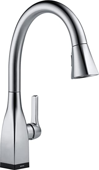 Delta Faucet 9183T-AR-DST Mateo Single Handle Pull-Down Kitchen Faucet with Touch2O Technology and MagnaTite Docking, Artic Stainless