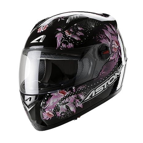 Astone Helmets GTGEX-FANTASY-PKXS Casque Intégral GT Fantasy Rose Taille XS