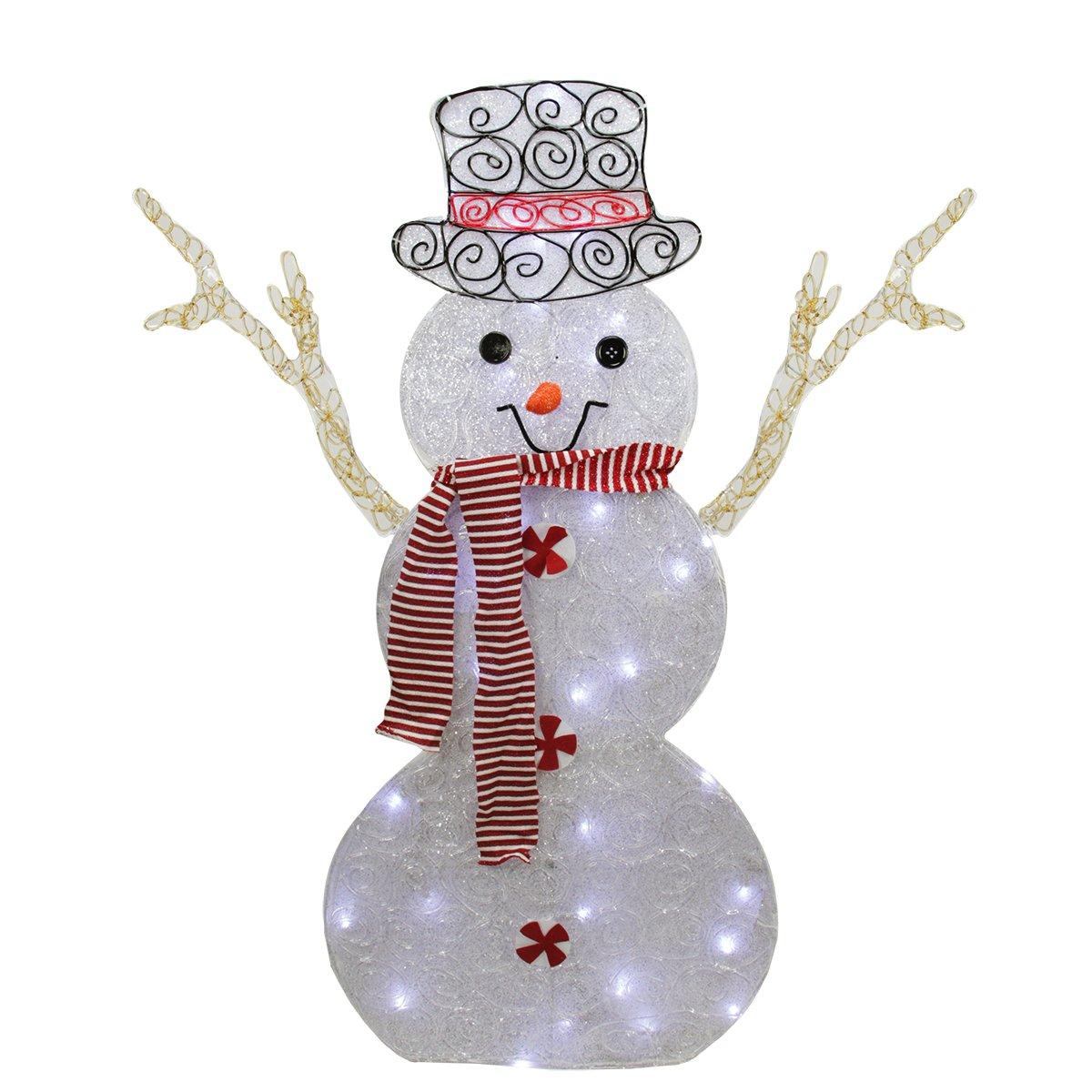 Snowman Lighted Yard Displays : Christmas Wikii