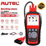 Autel MaxiDiag MD805 (MD802 Maxidiag Elite Full System) Code Reader OBD2 Diagnostic Tool Support OLS/EPB/transmission/Airbag +CAN OBDII better than MD802