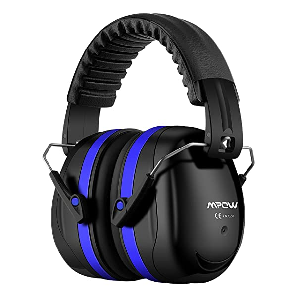 Mpow 035 Noise Reduction Safety Ear Muffs, Shooters Hearing Protection Ear Muffs, Adjustable Shooting Ear Muffs, NRR 28dB Professional Ear Defenders f