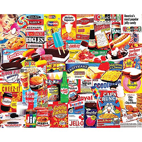 Things I Ate As A Kid Nostalgic Collage 1000 Piece Puzzle