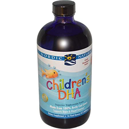 Отзывы Nordic Naturals - Children's DHA (Strawberry) - 16oz