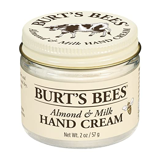Burt's Bees 100% Natural Almond Milk Beeswax Hand Cream, 2 Ounces (Pack of 2)