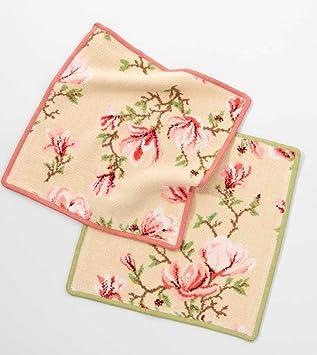 feiler magnolia13900040124 magnolia serviette essuie mains essuie mains beige vieux rose 30 x. Black Bedroom Furniture Sets. Home Design Ideas